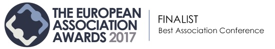 Finalist for Best Association Conference logo, The European Association Awards 2017
